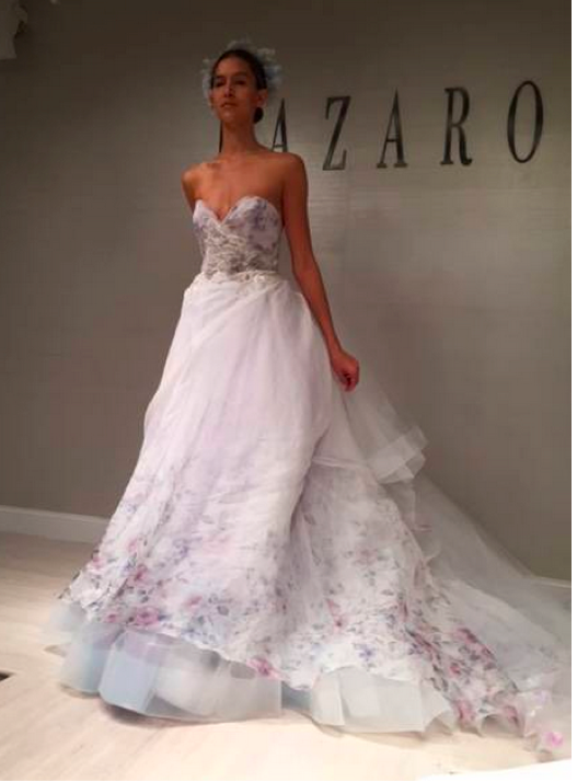 2015 Wedding Floral Dresses