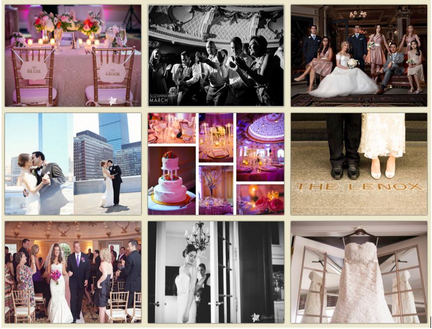 lenox hotel bridal event